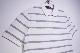 【SCOTCH & SODA】 BORDER POLO SHIRT -WHITE GREY-160887