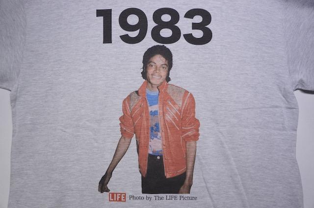 【SCREEN STARS】MICHAEL JACKSON 1983 -GREY-