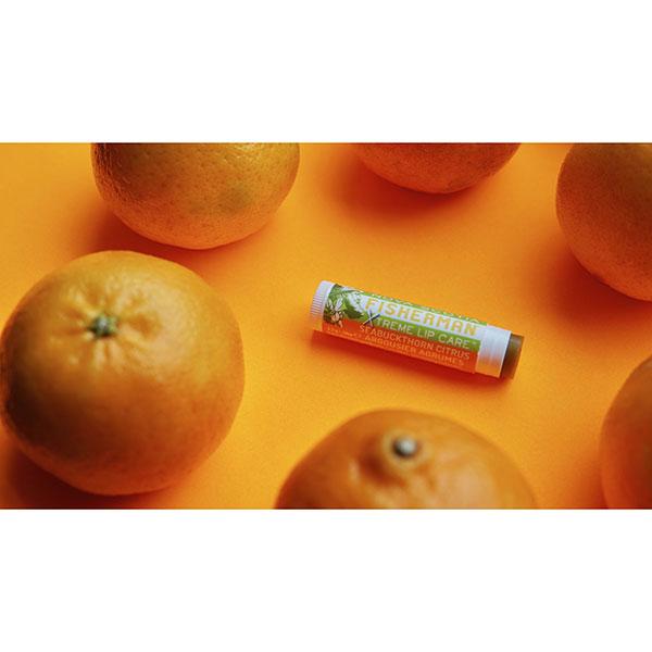 【NOVA SCOTIA FISHERMAN】Lip Balm - Seabuckthorn & Citrus / Double Pack ノバスコシア フィッシャーマン リップバーム [5.2gx2][リップクリーム][ネコポス対応]