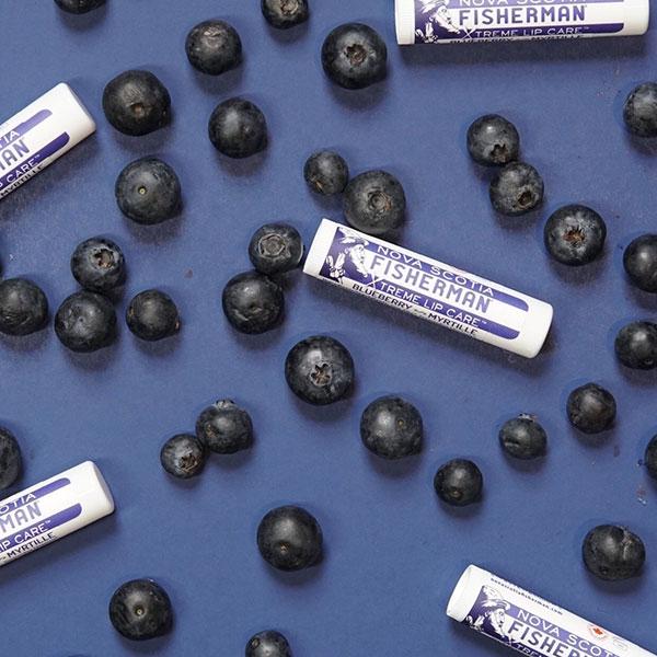 【NOVA SCOTIA FISHERMAN】Lip Balm - Blue Berry / Double Pack ノバスコシア フィッシャーマン リップバーム [5.2gx2][リップクリーム][ネコポス対応]