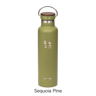 【EARTHWELL】Woodie Bottle - 22oz / Insulated Standard Mouth [650ml][4色][保冷対応]