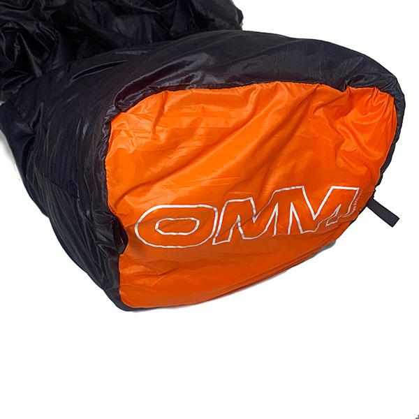 【OMM】Mountain Raid 100 オーエムエム マウンテン レイド 100 [Black/Orange][2021SS]