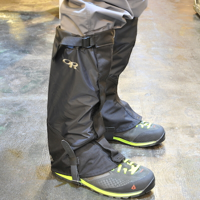 Outdoor Research Verglas Gaiters バーグラス ゲイター[Black]