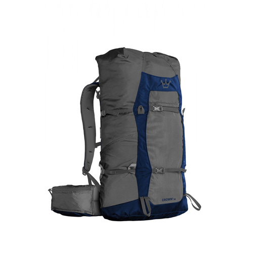 【GRANITE GEAR】Crown2 38 Backpack [38L][Flint/Midnight Blue]