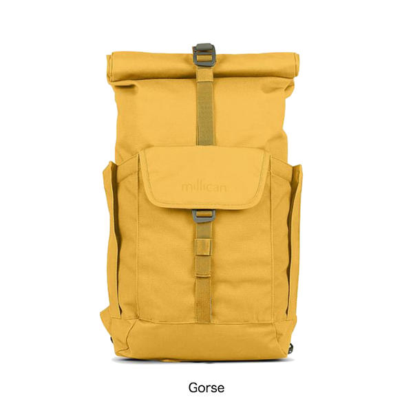 【MILLICAN】Smith The Roll Pack 15L - With Pockets  スミス ザ ロール パック 15L ウィズ ポケット[4色]