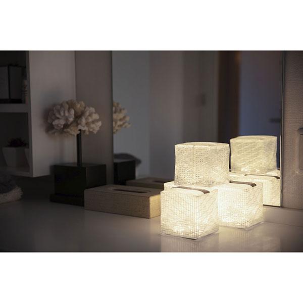 【CARRY THE SUN】Warm Light - Medium キャリーザサン ウォームライト ミディアム [White Belt][ソーラーランタン][ネコポス対応]