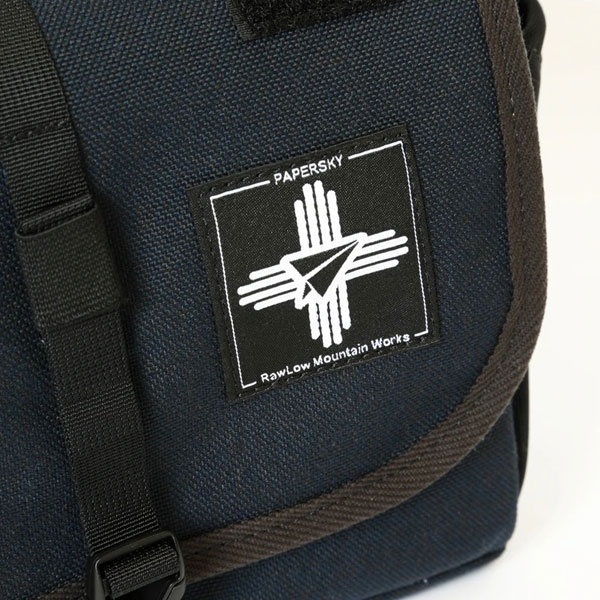 【RawLow Mountain Works】Bike'n Hike Front Bag - Papersky Ver. ロウロウ マウンテン ワークス バイクン ハイク フロント バッグ [Navy Blue]