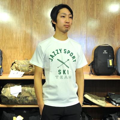 JAZZY SPORT SKI TEAM T-SHIRTS ジャジースポート スキーチーム Tシャツ [7色][ジャジスポ][レターパック対応]