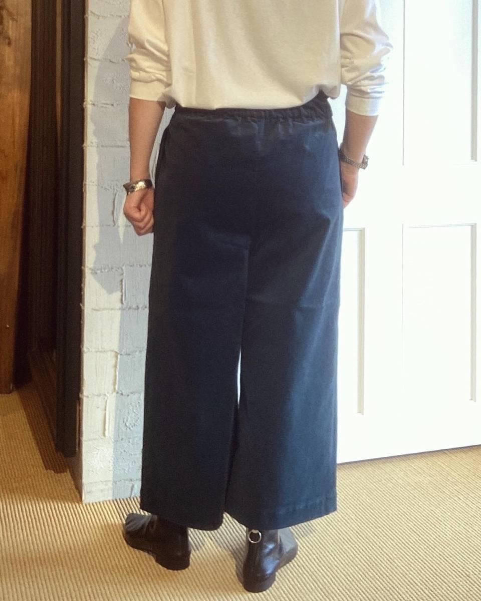 【chez-voeu】コーデュロイタックギャザーパンツ