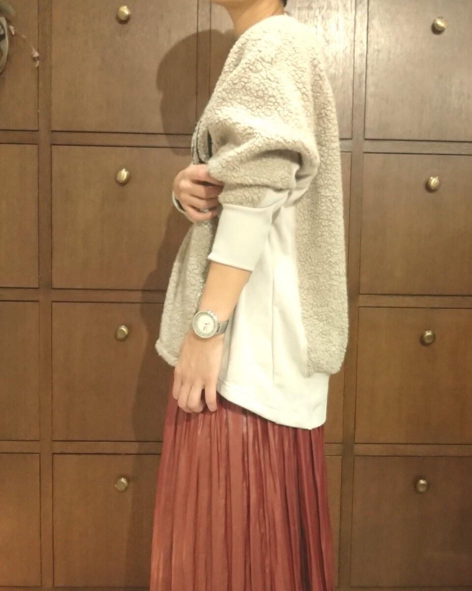 【araara】ボアエンブロイダリープルオーバー