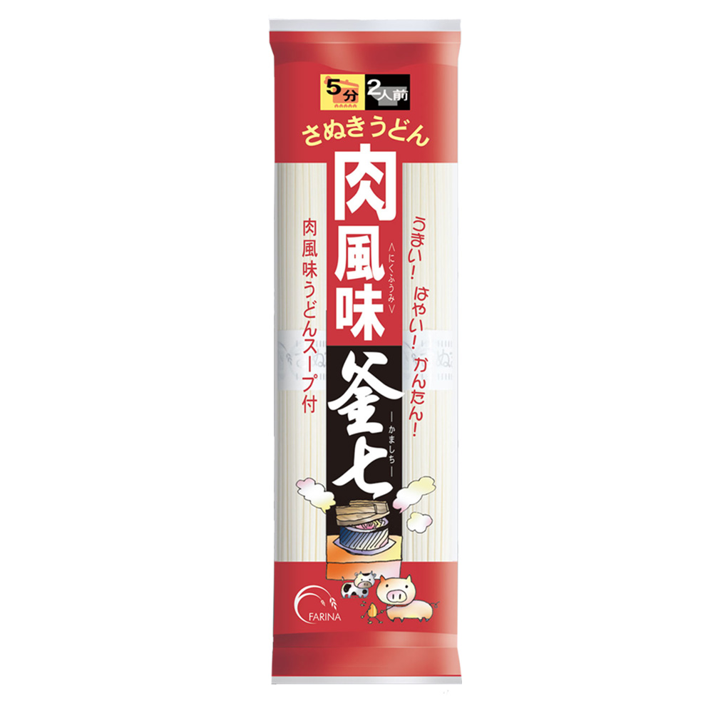 肉風味釜七 (スープ付き)