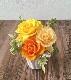 ふんわりと開花させたバラのアレンジ【プティローザ】