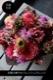 桑紅 - kuwabeni【7月の花】初夏の花 〜 暑い季節にも花もちが良い初夏の花を鮮やかに色合わせしたアレンジ〜 [ アレンジメント L size ] ★ 季節限定  6月〜 7月