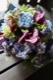 碧潭 - hekitan【6月の花】季節限定の青色ハイドランジアとパフィオのアレンジで個性的に。  ~ [ アレンジメント L size ]