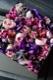 ★ 本色 ~ 定番人気の「極彩美」 花器付きローズギフト ~ [ ボックスフラワー 27cm ]   都心エリア限定配送
