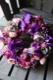 フラワーリース 38cm 本桔梗 honkikyou 定番人気の「極彩美」花器付きローズギフト ★都心エリア限定配送配送