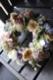 ★ 菫草 ~ 生命力溢れるシャビーシックなアレンジを、エレガントに季節のお薦め花材で。 ~ [ フラワーリース 38cm ]   都心エリア限定配送配送