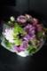 藤霞 - fujikasumi【8月の花】暑さに強い夏ギフト。リーフ花器付きでそのまま飾れます。 ~ [ アレンジメント L size ] ★季節限定 7月〜9月★
