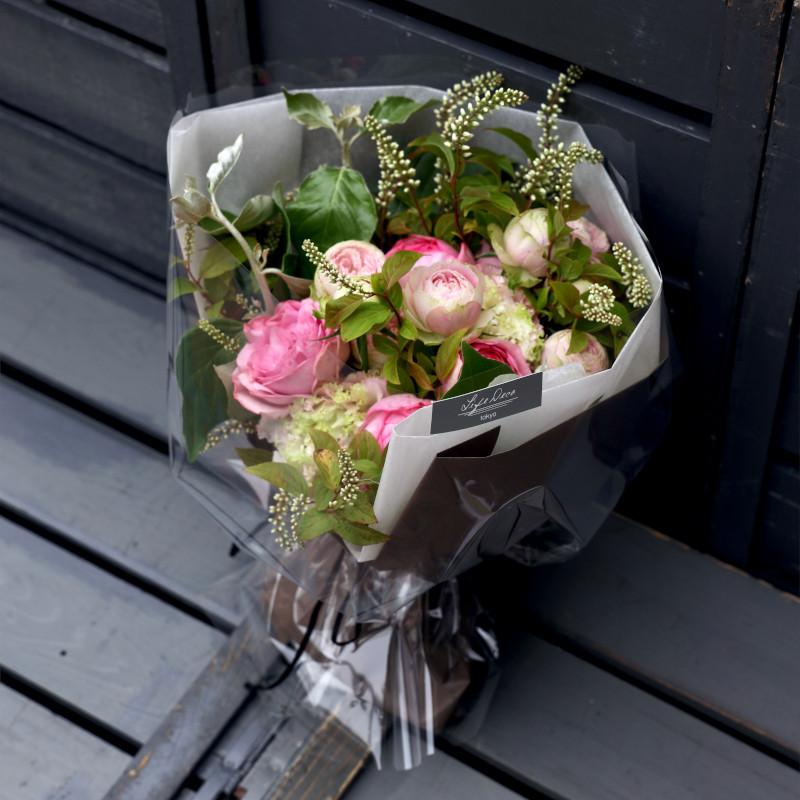 特選花束 M 朱鷺 toki 心に潤いを注ぎたくなったら迷わず飾ってほしいブーケ