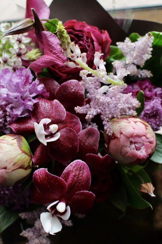 花柄 - Hanagara - レディライクなフラワー咲き乱れる新感覚ニュアンスアレンジ  [ アレンジメント S size ]