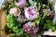 秘色芍薬 - hisokushakuyaku【5月の花】芍薬と薔薇を束ねた人気商品です。 ~ [ 特選花束 L size ] ◆季節限定 5月◆