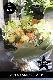 ★ 杏 〜 爽やかな暖色系のギフトブーケ 〜  [ 特選花束 2L size ]  都心エリア限定配送