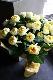 特選花束 3L 王卵 oran 人気の黄色バラだけを贅沢に束ねたブーケ スマートスタイリッシュな花束 ★都心エリア限定配送