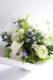 白群 - Byakugun【6月の花】初夏限定 ペールトーンで柔らかな印象に仕上げた花器付きギフトです。 ~ [ アレンジメント M size ] ★ 季節限定 6月~7月 ★