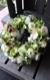 フラワーリース 38cm 爽白 souhaku ラグジュアリーの王道 ホワイト&グリーンを都会的な庭園をイメージしたアレンジで ★都心エリア限定配送