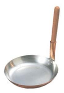 銅 親子鍋 東型<br>【親子丼 親子鍋 かつ丼 どんぶり】