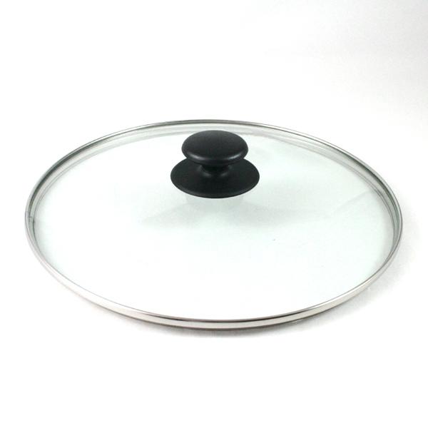 ユミック フライパンカバー強化ガラス(ガラス蓋) φ28cm