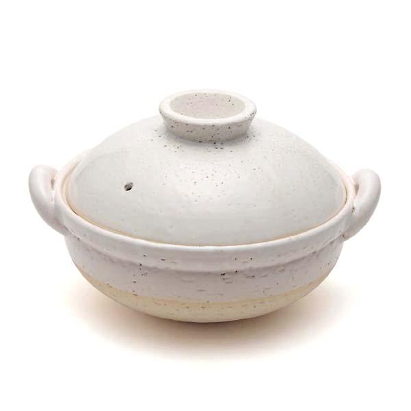 ヘルシー蒸し鍋 白 中(2〜3人用)【ポイント10倍】