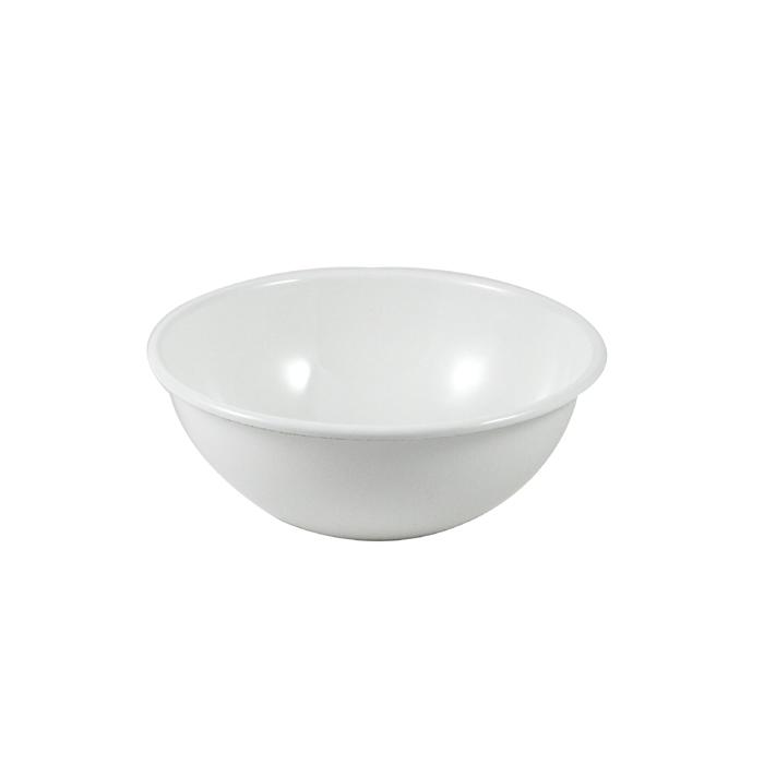 野田琺瑯 ボール(全白) 18cm【10%OFF】