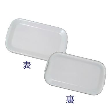 野田琺瑯 ホワイトシリーズ 琺瑯蓋 レクタングル深型LL用