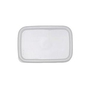 野田琺瑯 ホワイトシリーズ シール蓋 レクタングル深型S用