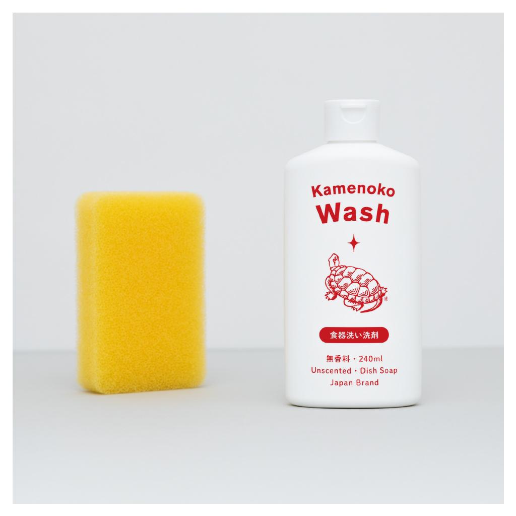 台所用合成洗剤(中性) 亀の子ウォッシュ 無香料 / シトラス