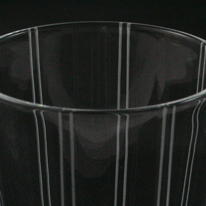 フライングソーサー オリジナルグラス ストライプ オールド 6oz