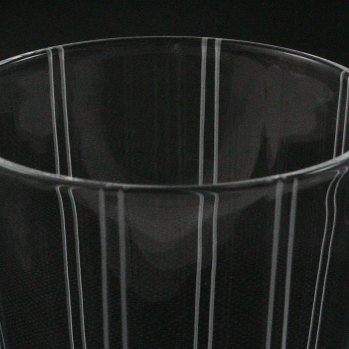 フライングソーサー オリジナルグラス ストライプ オールド 8oz