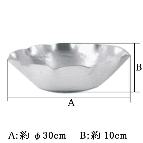 アルミ うどんすき鍋φ30cm 京都の名工 寺地茂 作【日本製】