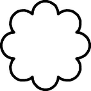 型抜 大 菊の花