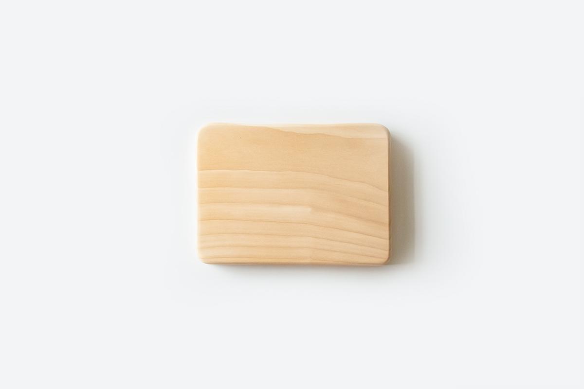 フライングソーサー オリジナル いちょうまな板 小【日本製】【職人の手作り】woodpecker ウッドペッカー 天然木 カッティングボード FS
