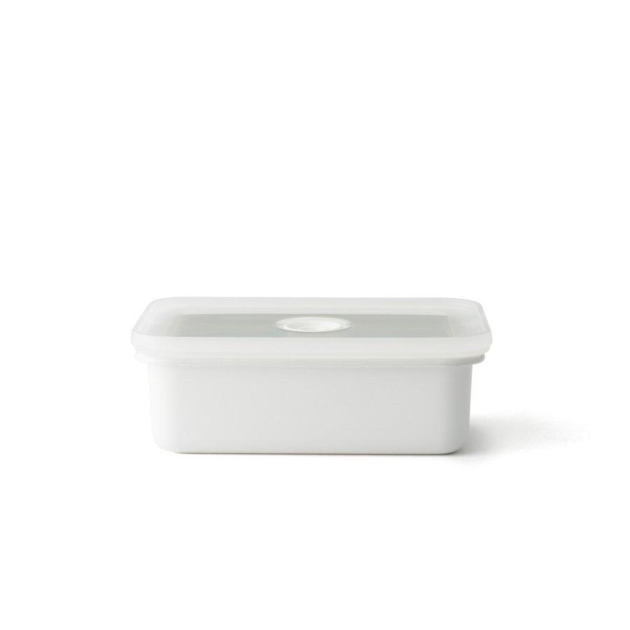 富士ホーロー 真空琺瑯容器 Vido(ヴィード) 浅型角容器 M【保存容器 つくおき】