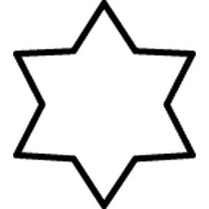 型抜 極小 六ッ星