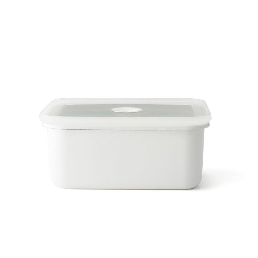 富士ホーロー 真空琺瑯容器 Vido(ヴィード) 深型角容器 L【保存容器 つくおき】