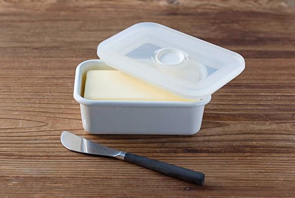 富士ホーロー バターケース 450g用【保存容器 つくおき】