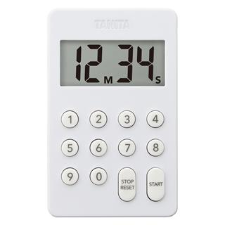 タニタ デジタルタイマー100分計 TD-415 ホワイト