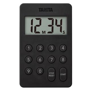 タニタ デジタルタイマー100分計 TD-415 ブラック