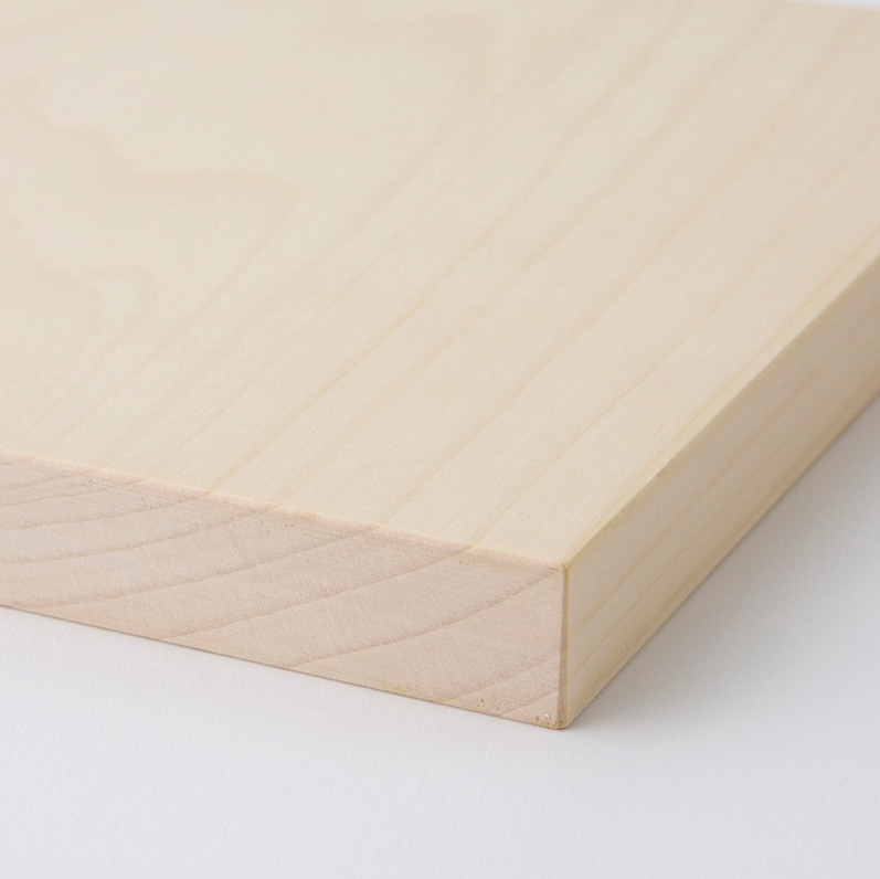 【日本製】woodpecker(ウッドペッカー) いちょうの木のまな板 真四角