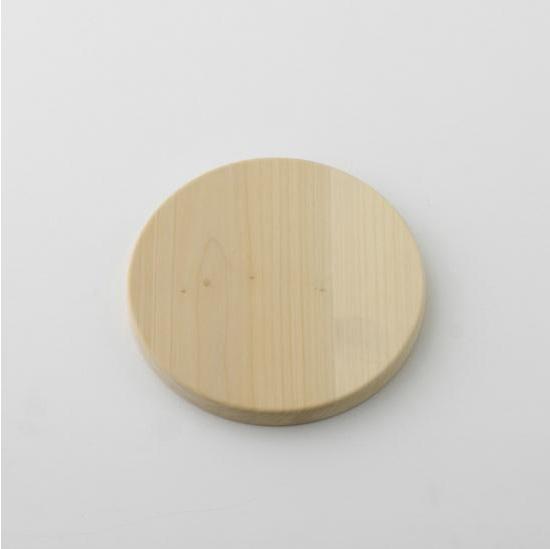 【日本製】woodpecker(ウッドペッカー) いちょうの木のまな板 まんまる