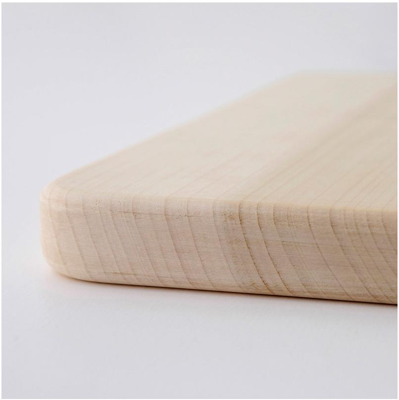 【日本製】woodpecker(ウッドペッカー) いちょうの木のまな板 3中